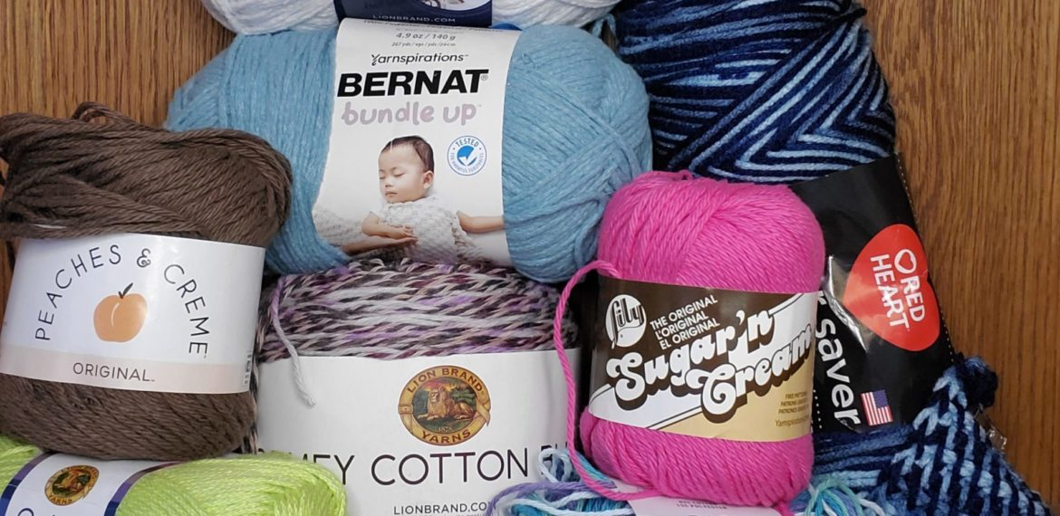 Lots of lovely yarns for beginners